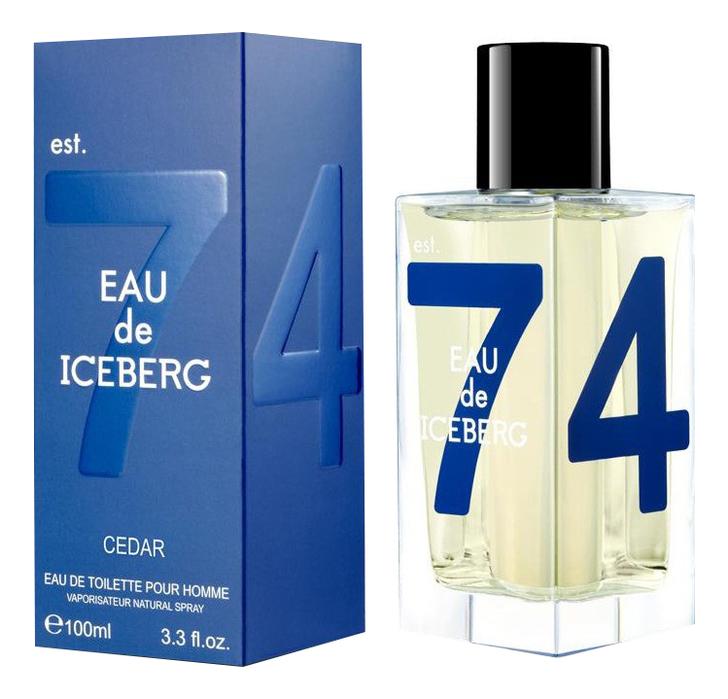 Iceberg Eau de Iceberg Cedar: туалетная вода 100мл шарф iceberg iceberg ic461gwbqhg7