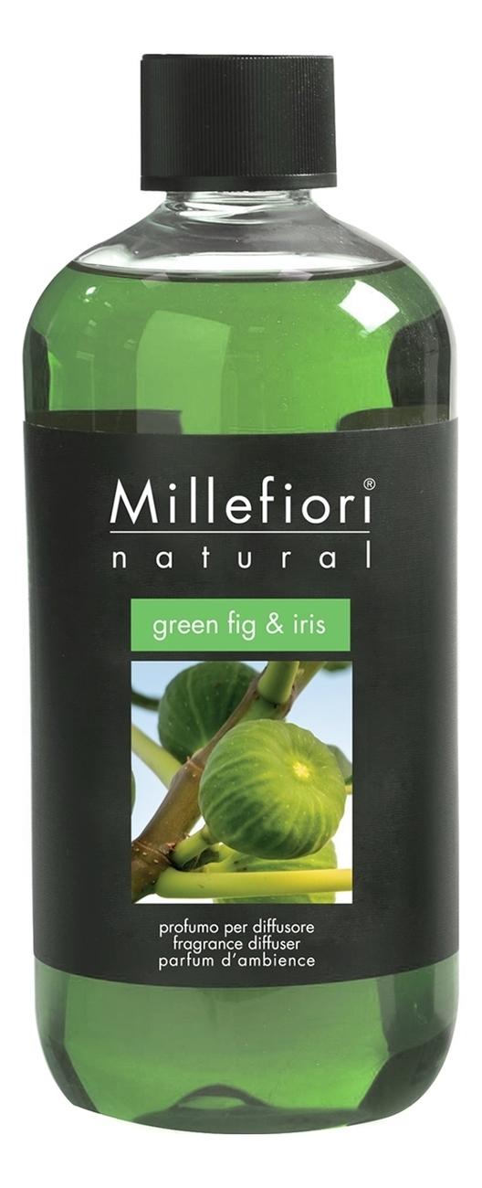 Ароматический диффузор Зеленый Инжир и Ирис Natural Green Fig & Iris: Диффузор 250мл запаска