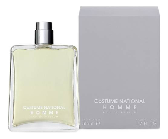 CoSTUME NATIONAL Homme: парфюмерная вода 50мл costume national homme футболка