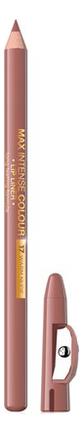 Контурный карандаш для губ Max Intense Colour Lip Liner 5г: 17 Warm Nude senna lip liner smooth lip pencil pure nude карандаш для губ 1 08 г