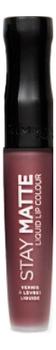 Жидкая матовая помада для губ Stay Matte Liquid Lip Colour 5,5мл: No 870