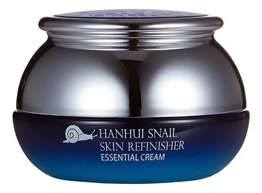Крем для лица с муцином улитки Hanhui Snail Skin Refinisher Essential Cream 50мл