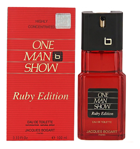 Jacques Bogart One Man Show Ruby Edition: туалетная вода 100мл jacques bogart silver scent туалетная вода 100мл