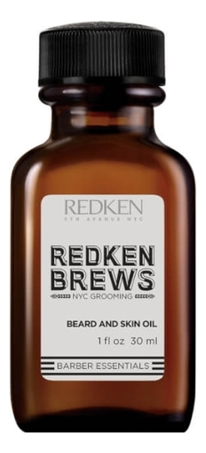 Масло для лица и бороды Brews Beard And Skin Oil 30мл масло для бороды beard oil beard maintenance oil 30мл