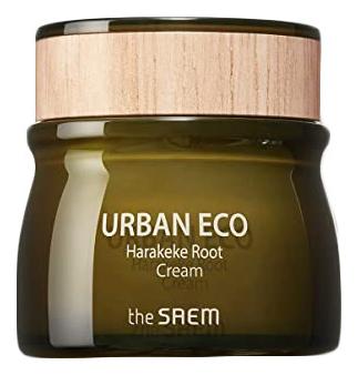 Крем с экстрактом корня новозеландского льна Urban Eco Harakeke Root Cream 60мл глубоко увлажняющий крем с экстрактом новозеландского льна the saem urban eco harakeke root deep cream
