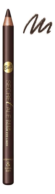 Фото - Водостойкий карандаш для глаз Secretale Deep Eye Pencil 0,2г: No 2 lambre карандаш для глаз deep