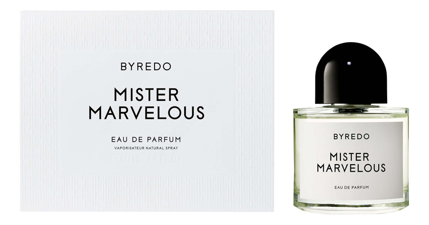 Byredo Mister Marvelous: парфюмерная вода 50мл byredo eleventh hour
