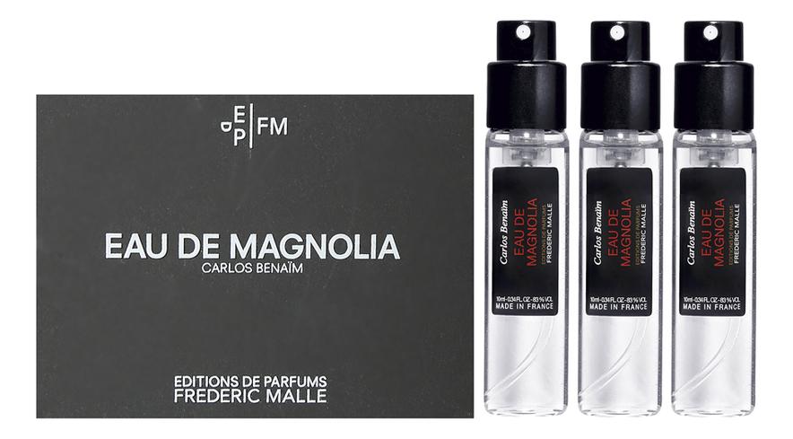 Frederic Malle Eau De Magnolia: туалетная вода 3*10мл frederic malle bigarade concentree eau de parfum