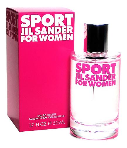 Jil Sander Sport for Women: туалетная вода 50мл
