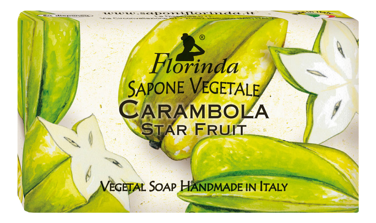 Натуральное мыло Profumi Tropicali Carambola 100г