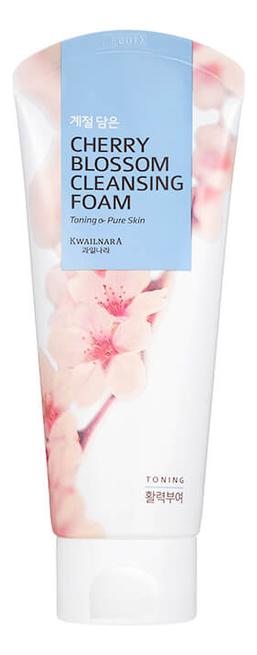 Пенка для умывания Цветение вишни Kwailnara Cherry Blossom Cleansing Foam 130г пенка для умывания с экстрактом яичного белка kwailnara egg tightening cleansing foam 130г