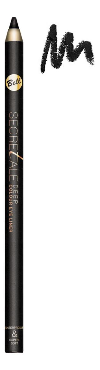 Фото - Водостойкий карандаш для глаз Secretale Deep Eye Pencil 0,2г: No 1 lambre карандаш для глаз deep