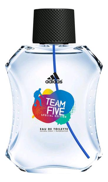 Adidas Team Five: туалетная вода 100мл тестер adidas ice dive туалетная вода для мужчин 100мл