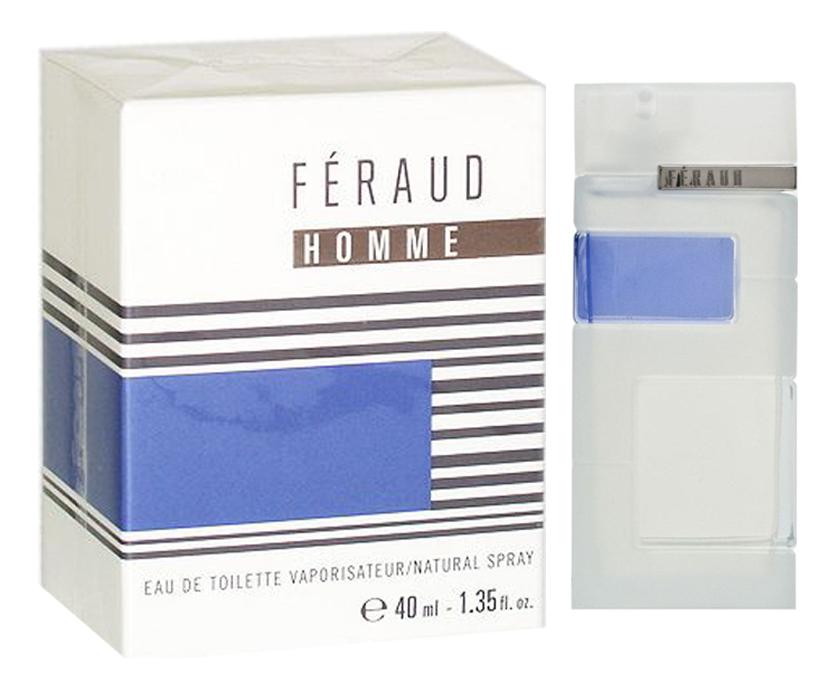 Feraud Homme: туалетная вода 40мл braccialini туалетная вода 40мл
