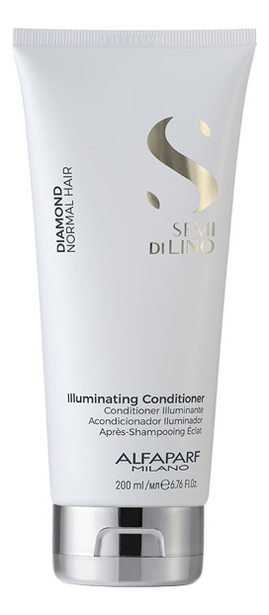 Кондиционер для нормальных волос Semi Di Lino Diamond Illuminating Conditioner 200мл: Кондиционер 200мл batiste кондиционер мгновенный instant conditioner 200мл
