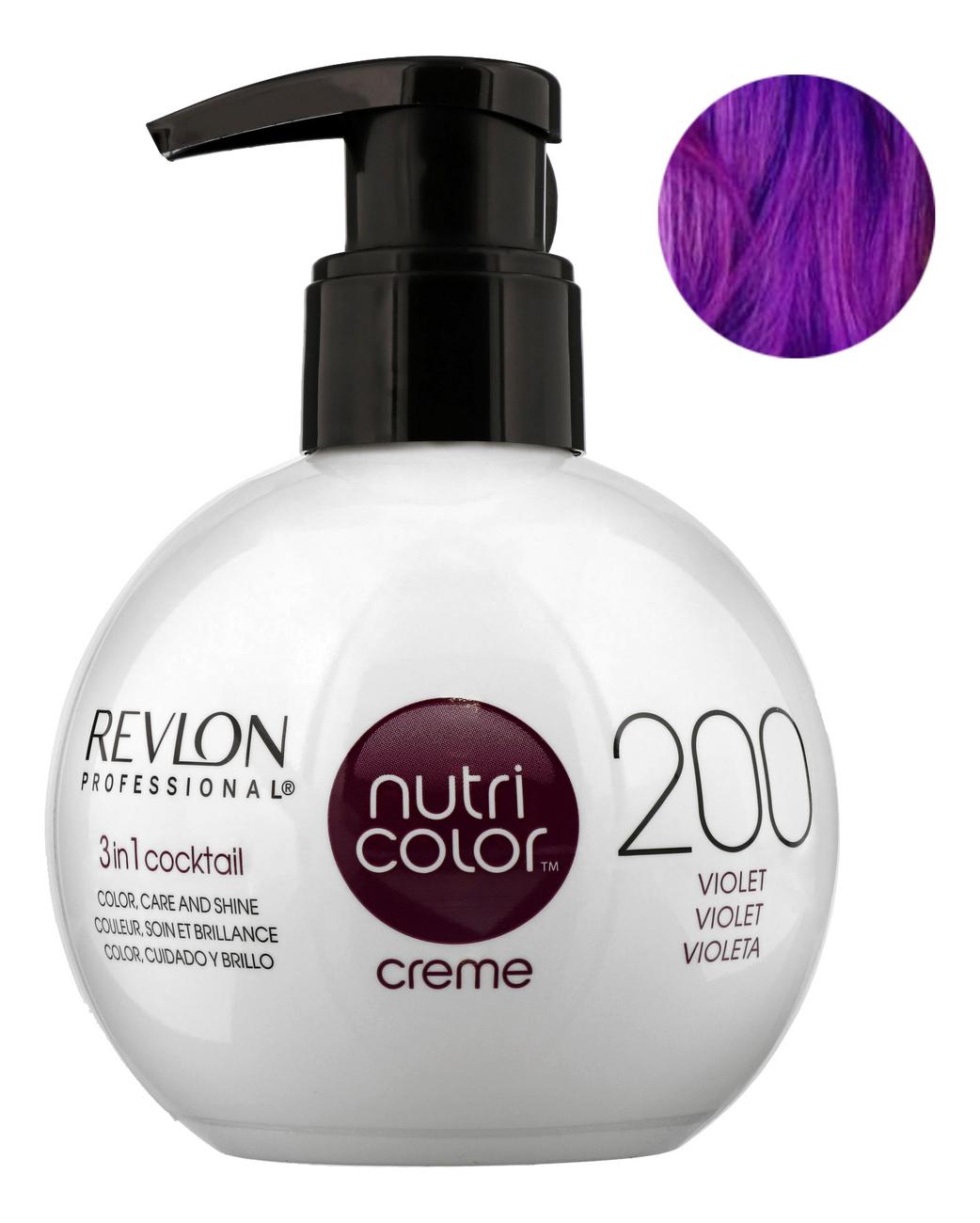 Краска для волос Nutri Color Creme 200 Violet: Краска 270мл