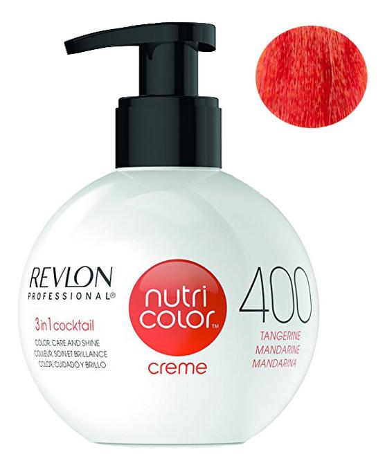 Краска для волос Nutri Color Creme 400 Tangerine: Краска 270мл