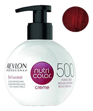 Краска для волос Nutri Color Creme 500 Purple Red: Краска 270мл