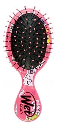 Щетка для спутанных волос Mini Happy Fantasy (розовый единорог)