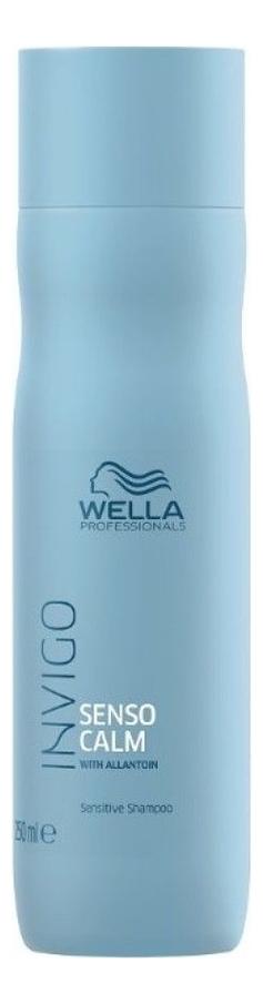 Шампунь для чувствительной кожи головы Invigo Balance Senso Calm 250: Шампунь 250мл wella invigo senso calm шампунь для чувствительной кожи головы 1 л