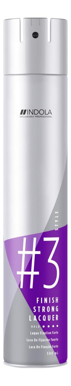 Лак для волос сильной фиксации Innova Finish Strong Lacquer 500мл indola finish gel spray style