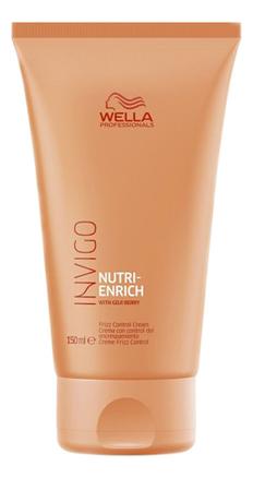 Разглаживающий крем-флюид для волос Invigo Nutri-Enrich Frizz Control Cream 150мл wella invigo nutri enrich крем флюид разглаживающий с ягодами годжи 150 мл