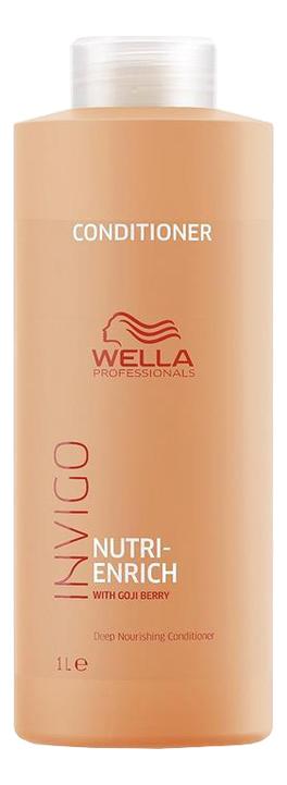 Питательный бальзам-уход для волос Invigo Nutri-Enrich Deep Nourishing Conditioner: Бальзам-уход 1000мл wella питательный крем бальзам nutri enrich 150 мл