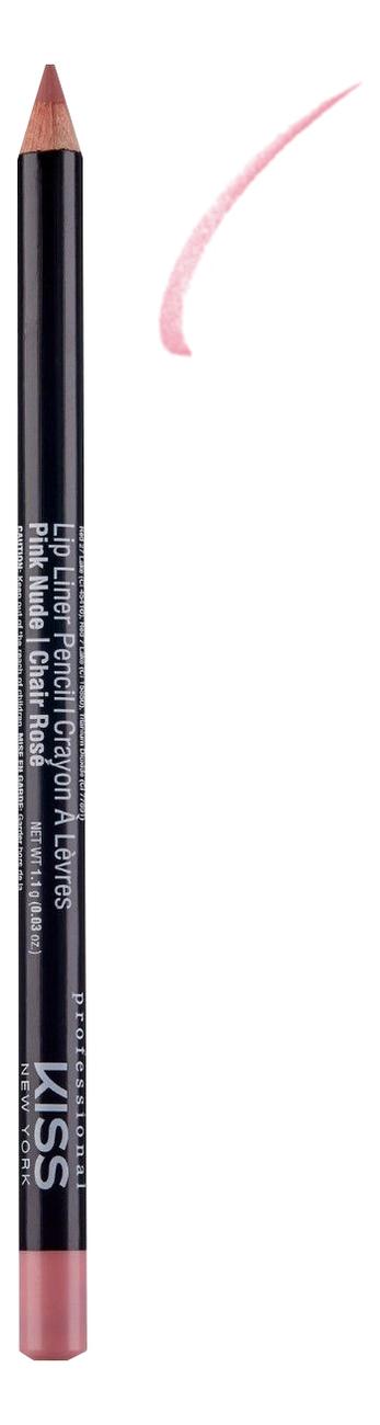 Контурный карандаш для губ Lip Liner Pencil 1,1г: Pink Nude senna lip liner smooth lip pencil pure nude карандаш для губ 1 08 г