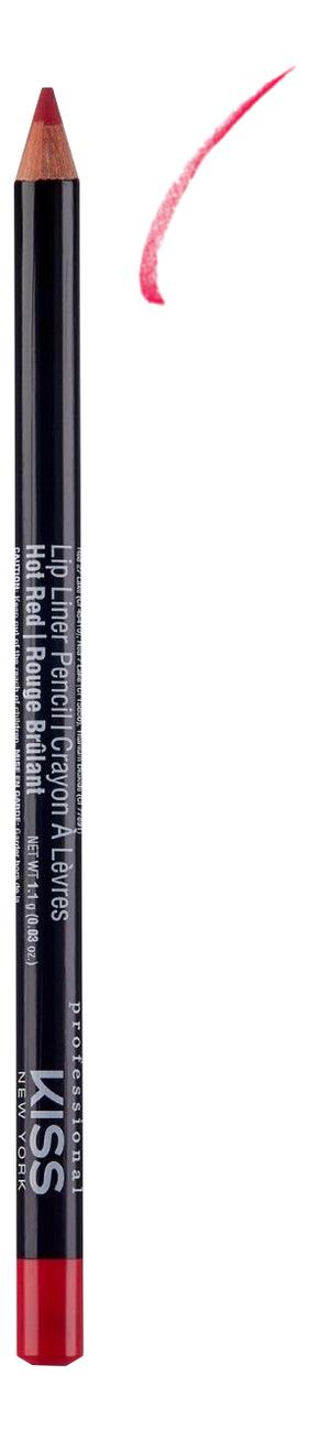 Контурный карандаш для губ Lip Liner Pencil 1,1г: Hot Red