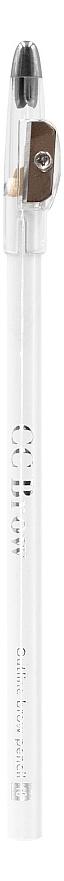 Контурный карандаш для бровей CC Brow Outline Brow Pencil (белый) lancome brow shaping powdery pencil карандаш для бровей 08