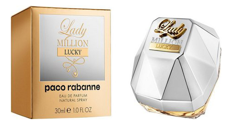 Paco Rabanne Lady Million Lucky: парфюмерная вода 30мл