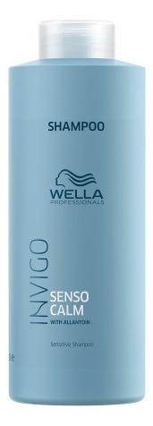 Шампунь для чувствительной кожи головы Invigo Balance Senso Calm: Шампунь 1000мл wella invigo senso calm шампунь для чувствительной кожи головы 1 л