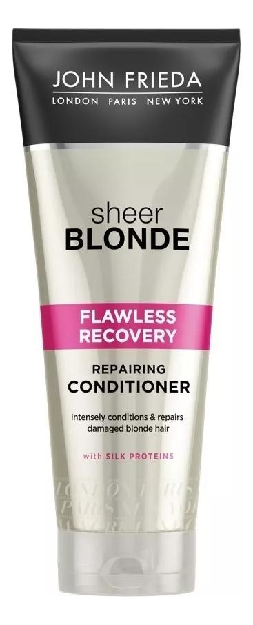 Восстанавливающий кондиционер для окрашенных волос Sheer Blonde Flawless Recovery Conditioner 250мл conditioners john frieda jjf511220 air conditioner for hair care enhancement and nutrition vitamins