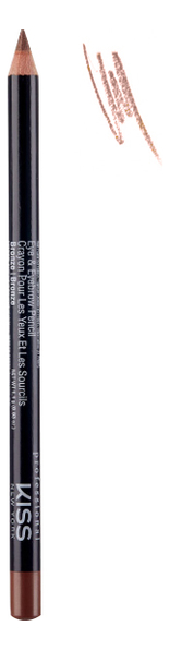 Контурный карандаш для глаз Eye & Eyebrow Pencil 1,1г: Bronze