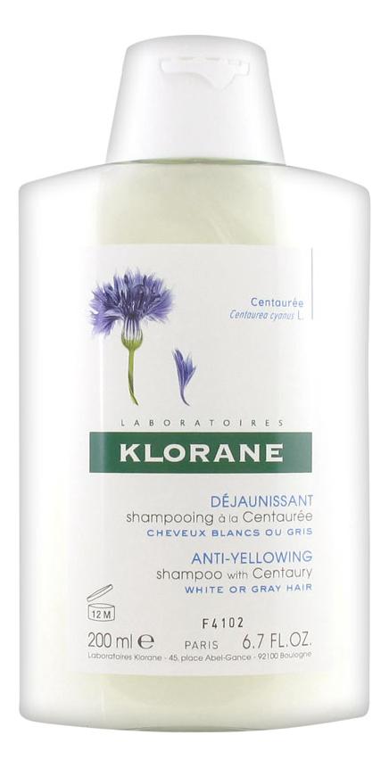 Шампунь для светлых волос с экстрактом василька Dejaunissant Shampooing a la Centauree 200мл klorane шампунь с ромашкой для светлых волос 200 мл