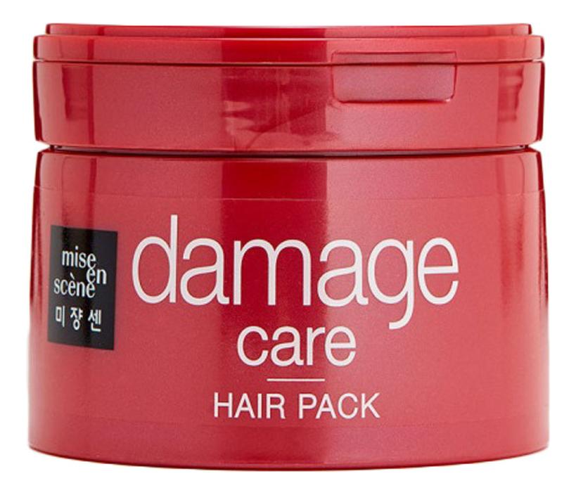 Восстанавливающая маска для поврежденных волос Damage Care Hair Pack 150мл восстанавливающая сыворотка для поврежденных волос luxor hair therapy recovery care 75мл