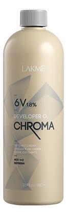 Стабилизированный крем-окислитель для волос 6V 1,8% Chroma Developer Oxydant Cream: Крем-окислитель 1000мл фонарь navigator npt sp10 accu 94 966