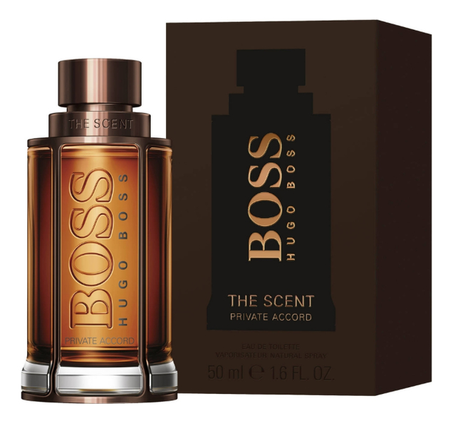 Hugo Boss The Scent Private Accord For Him: туалетная вода 50мл