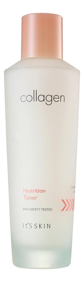 Питательный тонер для лица Collagen Nutrition Toner 150мл it s skin collagen nutrition toner питательный тонер итс скин коллаген 150 мл