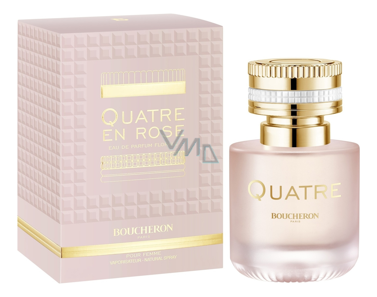 Boucheron Quatre En Rose: парфюмерная вода 50мл