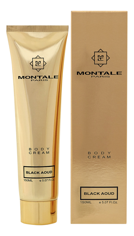 Montale Black Aoud: крем для тела 150мл montale aoud night туалетные духи 100 мл