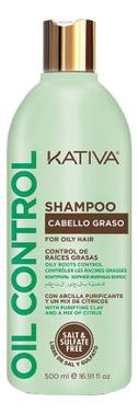 Шампунь для волос Oil Control Shampoo: Шампунь 500мл шампунь коллагеновый kativa