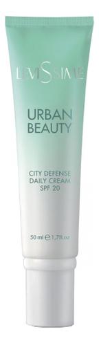 Защитный дневной крем для лица Urban Beauty City Defense Daily Cream SPF20 50мл academie hypo sensible daily protection cream гипоаллергенный дневной защитный крем для лица 50 мл