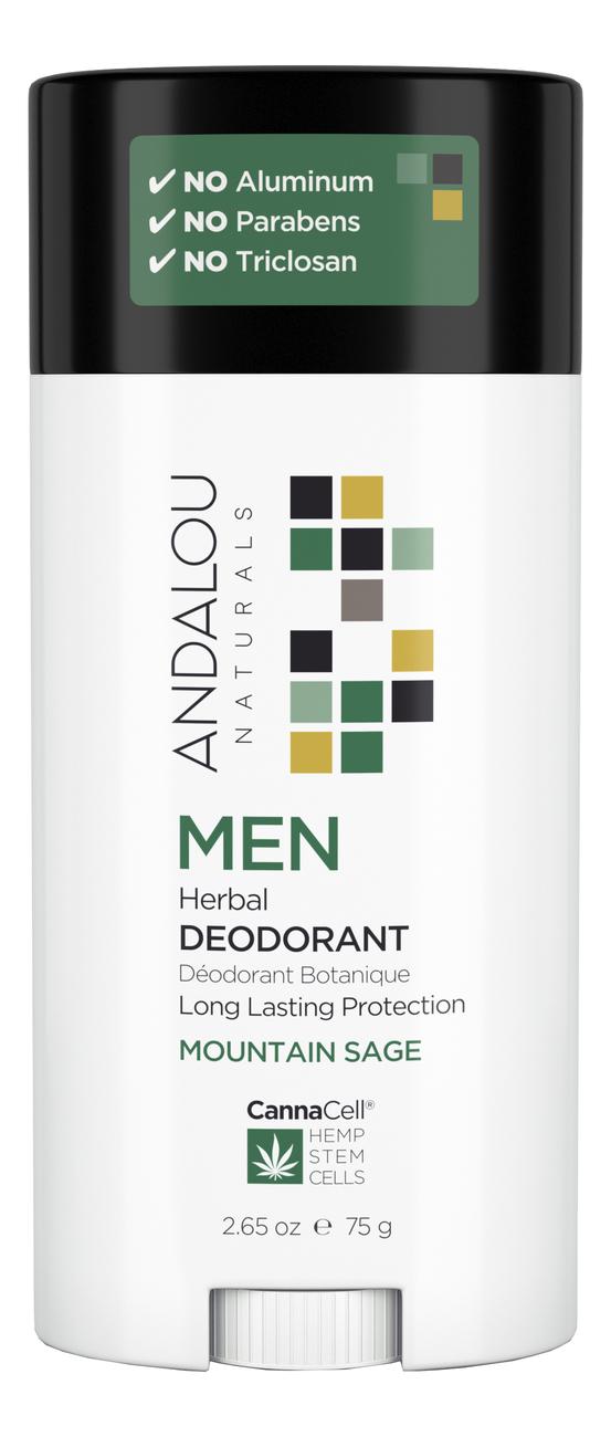 Дезодорант для тела Canna Cell Men Deodorant Mountain Sage 75г (горный шалфей)