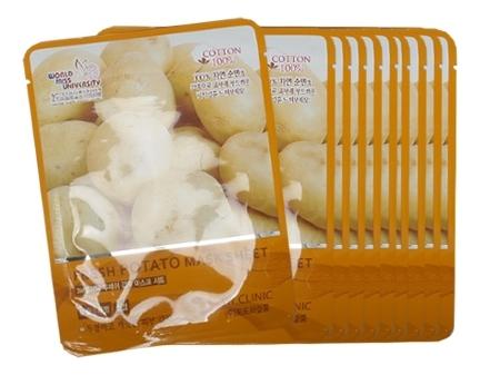 Тканевая маска для лица с экстрактом картофеля Fresh Potato Mask Sheet: Маска 10*23г