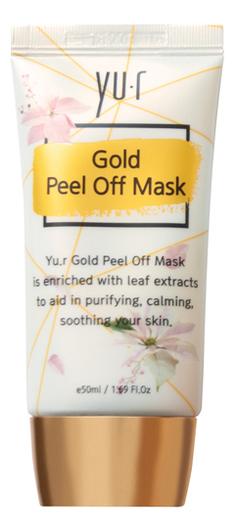 Золотая маска-пленка Gold Peel Off Mask 50мл пленка