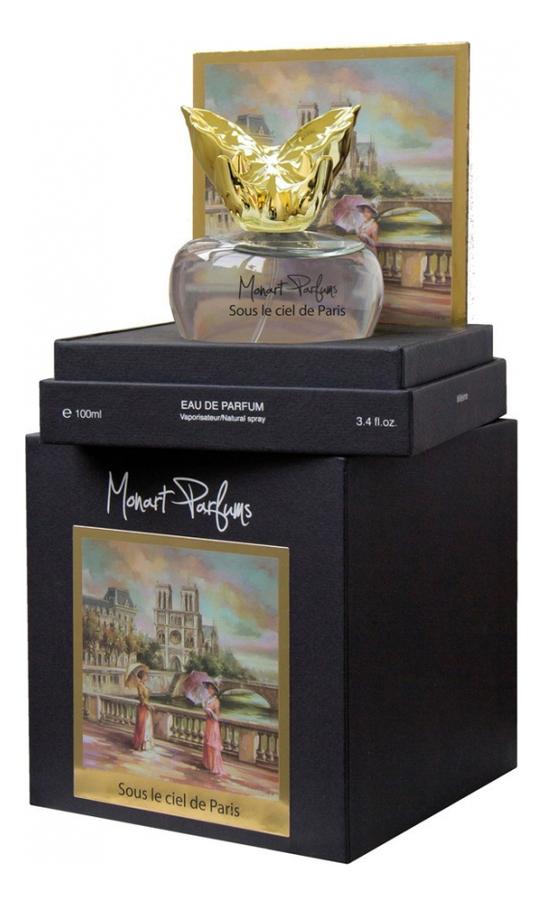 Monart Parfums Sous Le Ciel De Paris: парфюмерная вода 100мл аромадиффузор arome le comptoir de paris arome le comptoir de paris mp002xu02rg9