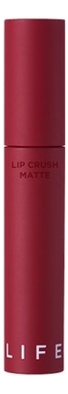 Матовая жидкая помада для губ Life Color Lip Crush Matte 5г: No 18 губная помада lip color 5г hot pink