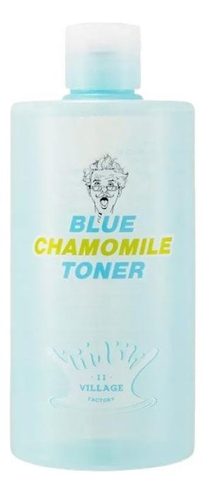 Успокаивающий тонер для лица с экстрактом голубой ромашки Blue Chamomile Toner 400мл успокаивающий тонер для лица ac collection calming liquid intensive 125мл