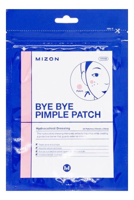 Патчи для лечения угревой сыпи Bye Pimple Patch 24шт